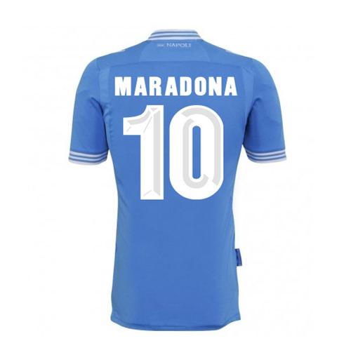 Camiseta Napoli 2013-14 Réplica Home (Maradona 10) Original Online 2d8509e88fe28