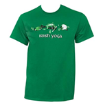 Camiseta Irish Yoga St. Patrick's Day