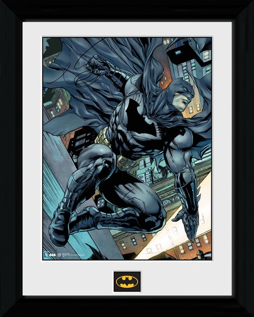Póster Batman Swing moldurado