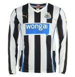 Camiseta manga longa Newcastle United 2013-14 Home