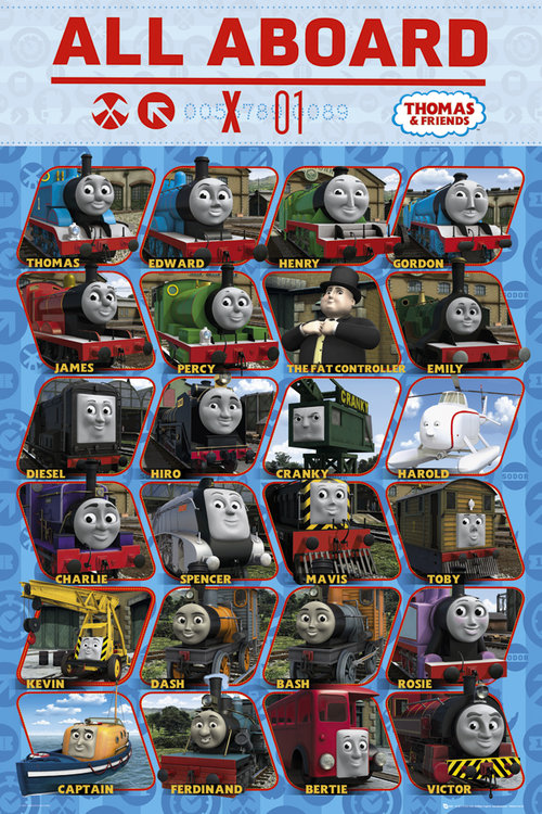 Poster Thomas and Friends 108551