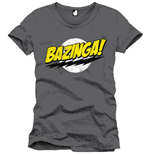Camiseta The Big Bang Theory Bazinga 109383