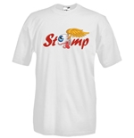 Round necked t-shirt with flex printing - STOMP