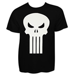 Camiseta Punisher - Plain Jane White Skull