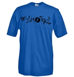 Round necked t-shirt with flex printing - Opium Trail