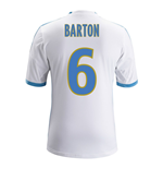 Camiseta Olympique Marseille 2013-14 Home (Barton 6)