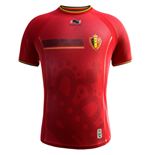 Camiseta Bélgica 2014-15 Home World Cup de menino