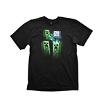 Camiseta Minecraft Youth Tee Creeper Anatomy Extra Large
