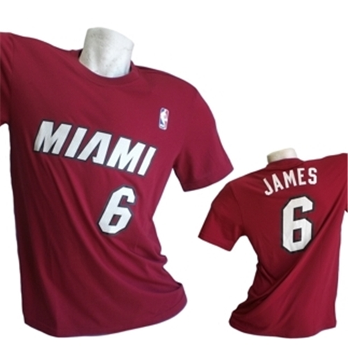 9f16460db Camiseta Miami Heat Lebron James Original  Compra Online em Oferta
