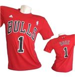 Camiseta Chicago Bulls Rose