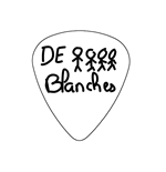 "Fender ""Heavy"" Guitar Pick - De Blanches"