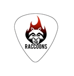 "Fender ""Medium"" Guitar Pick - The Raccoons"
