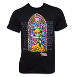 Camiseta Nintendo The LEGEND OF ZELDA Wind Waker Stained Glass