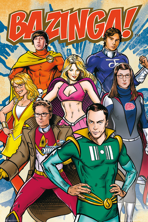 Poster The Big Bang Theory 112110
