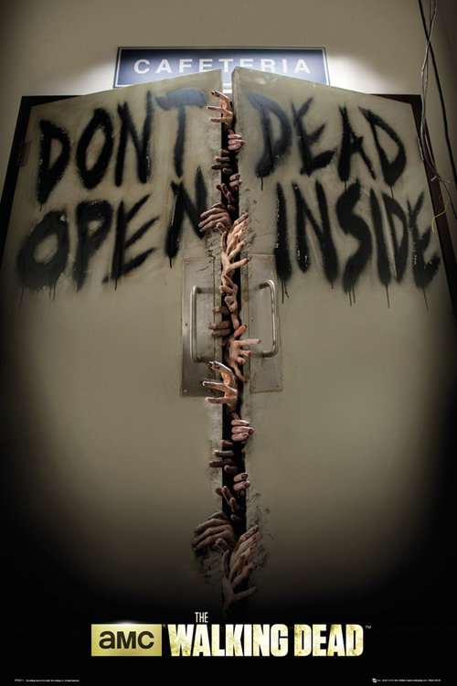 Póster Walking Dead Keep Out