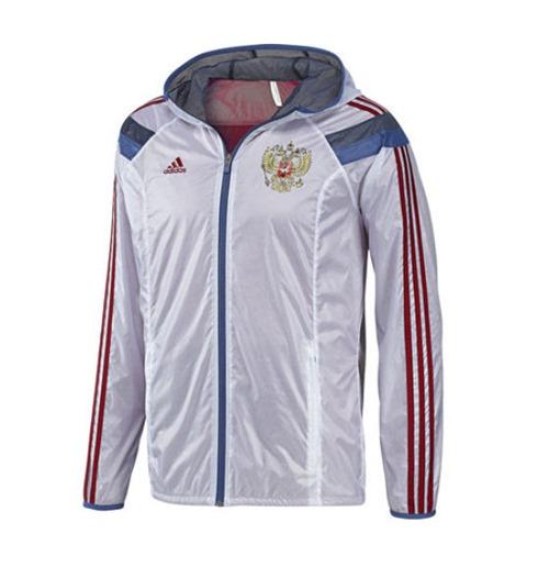 bc2ff843ad Jaqueta Rússia 2014-15 Adidas Anthem Original: Compra Online em Oferta