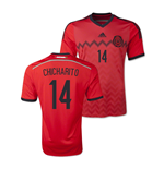 Camiseta México 2014-15 World Cup Away (Chicharito 14) de criança