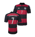 Camiseta Alemanha 2014-15 World Cup Away (Schweinsteiger 7)