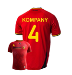 Camiseta Bélgica 2014-15 World Cup Home (Kompany 4)
