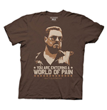 Camiseta O Grande Lebowsky - You are Entering in a World of Pain