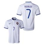 Camiseta Portugal 2014-15 World Cup Away (Ronaldo 7)