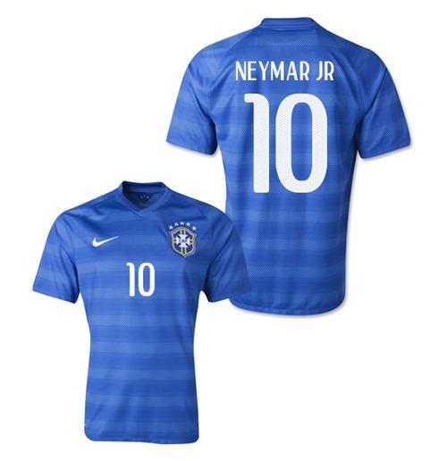 Compra Camiseta Brasil 2014-15 World Cup Away (Neymar JR 10) 19776fdc13d72