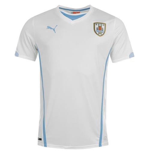 Compra Camiseta Uruguai 2014-15 Away World Cup de criança Original db48583968383