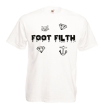 Transfer Printed T-shirt - Foot Filth