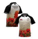 Camiseta British Army Letter Home Poppy Rugby
