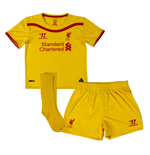 Kit Liverpool FC 2014-15 Away de bebê