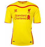 Camiseta Liverpool FC 2014-15 Away