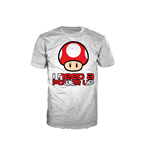 Camiseta NINTENDO SUPER MARIO BROS. Red Mushroom I Need A Power Up Extra Large