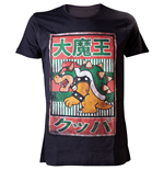 Camiseta NINTENDO SUPER MARIO BROS. Bowser with Kanji Text Large