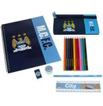 Set Papelaria Manchester City FC