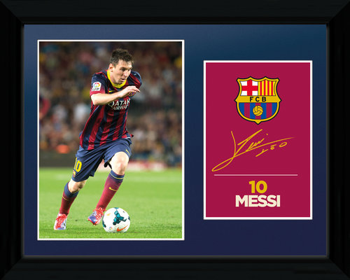 Poster Barcelona Messi