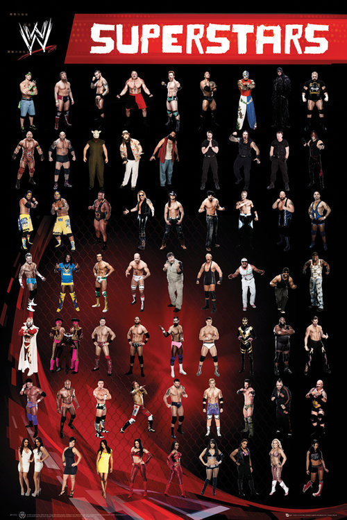 Póster WWE Superstars