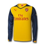Camiseta Arsenal 2014-2015 Puma Away