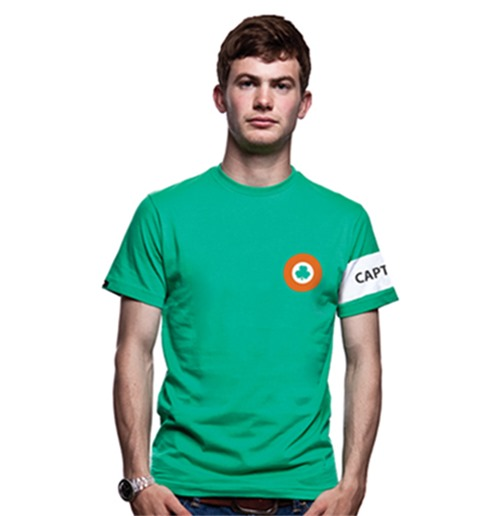 Camiseta Irlanda Captain