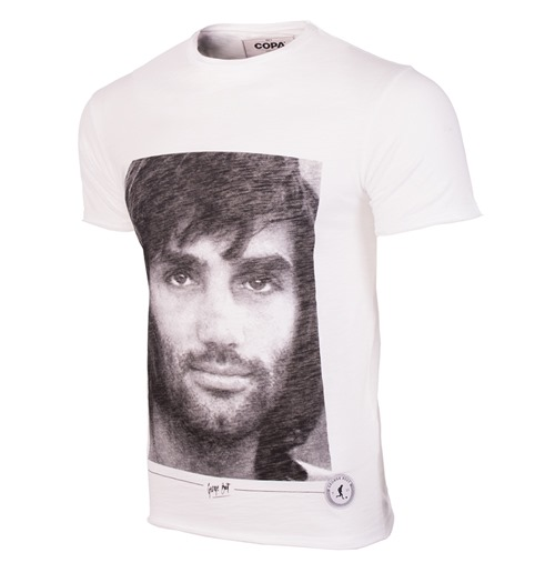 Camiseta George Best Portrait