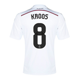 Camiseta Real Madri 2014-15 Home Shirt (Kroos 8)