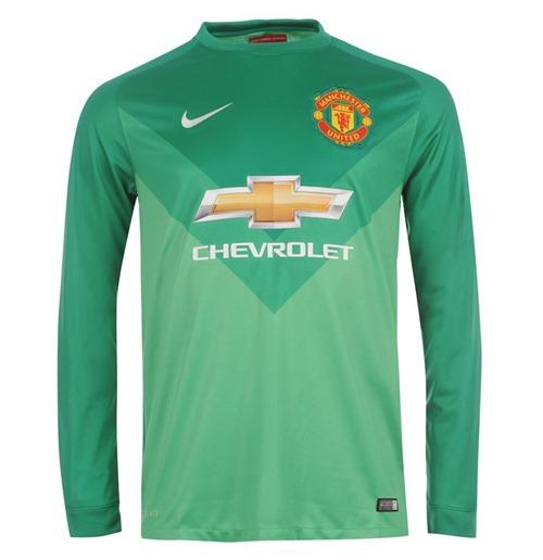 afc5e4fa21 Compra Camiseta goleiro Manchester United 2014-2015 Nike Home