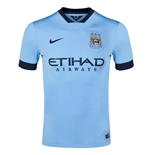 Camiseta Manchester City 2014-15 Home Nike