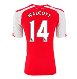 Camiseta Arsenal 2014-15 Home (Walcott 14)