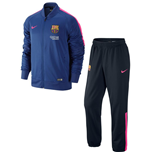 Moletom FC Barcelona 2014-2015 Nike (Royal-Rosa)