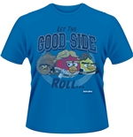 Camiseta Angry Birds Star Wars - Let The Good Side Roll