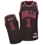 Camiseta adidas Chicago Bulls Derrick Rose Hardwood Classic Fashion Swingman
