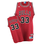 Camiseta adidas Chicago Bulls #33 Scottie Pippen Soul Swingman Road