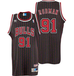 Camiseta adidas Chicago Bulls #91 Dennis Rodman Soul Swingman Alternate