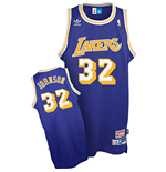 Camiseta adidas Magic Johnson Los Angeles Lakers Soul Swingman Road