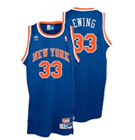 Camiseta adidas New York Knicks #33 Patrick Ewing Soul Swingman Road